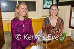 Enjoying the evening in Reidy's in Killarney on Saturday, l to r: Caroline Giltinann and Maria O'Callaghan from Farranfore.