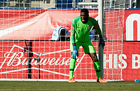 CARSON, CA - FEBRUARY 1: GK Sean Johnson #1 of the United States during a game between Costa Rica and USMNT at Dignity Health Sports Park on February 1, 2020 in Carson, California.