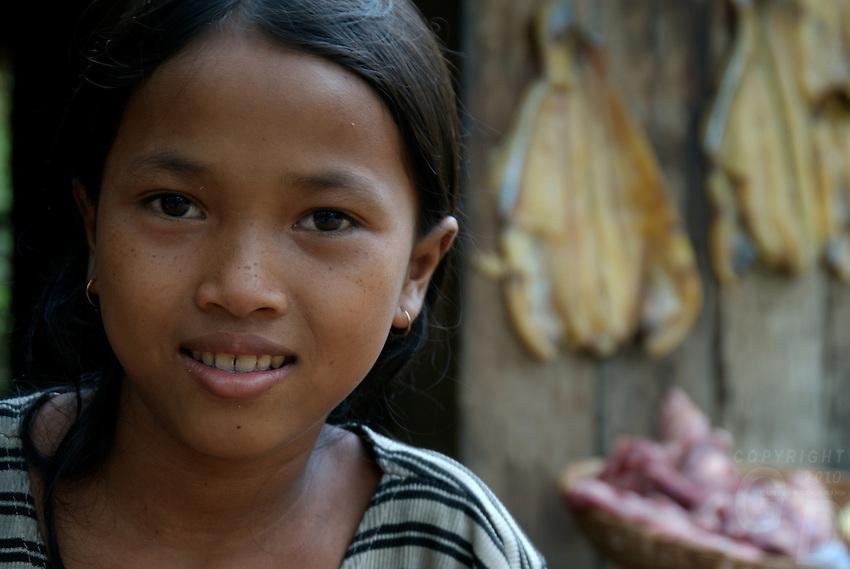 Siam Reap, Cambodia, Little Girl