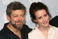 DIRECTOR ANDY SERKIS AND CLAIRE FOY - PHOTOCALL OF THE FILM 'BREATHE' - 42ND TORONTO INTERNATIONAL FILM FESTIVAL 2017