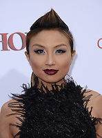 Jeannie Mai @ the premiere of 'Barber Shop The Next Cut' held @ the Chinese theatre.<br /> April 6, 2016