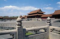 China, Peking, Kaiserpalast, Tor der höchsten Harmonie, Unesco-Weltkulturerbe