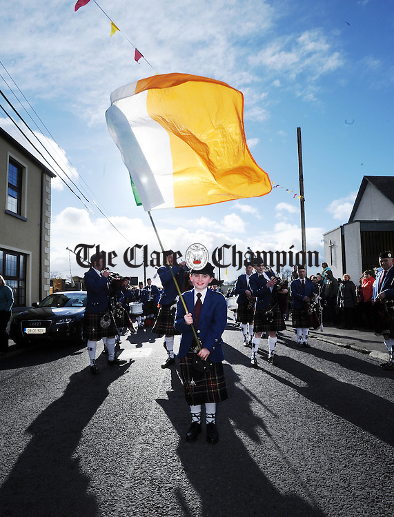 at Meelick National School. Photograph by Declan Monaghan
