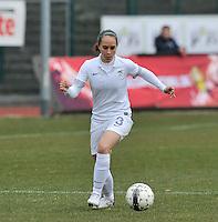France U19 - Belgium U19 : Charlotte Lorgere.foto DAVID CATRY / Nikonpro.be