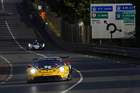 #72 HUB AUTO RACING (TPE) Porsche 911 RSR - 19 LMGTE Pro - Dries Vanthoor (BEL) / Alvaro Parente (PRT) / Maxime Martin (BEL)