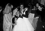 GIANCARLO GIANNINI, MILLY CARLUCCI  E MARGHERITA PARILLA<br /> SERATA BENIFICENZA UNICEF   FIRENZE 1980