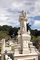 Cuba, Friedhof Necropolis Santa Ifigenia in Santiago de Cuba