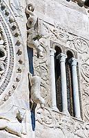 The 8th century Romanesque Basilica church of St Peters, Tuscania, Lazio, Italy