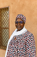 NIGER, Niamey, Katholische Schule Mission Garcons, Fatouma Marie-Therése Djibo, ist vom Islam zum Christentum konvertiert