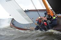 ZEILSPORT: FRYSLÂN: SKS Skûtsjes, ©foto Martin de Jong