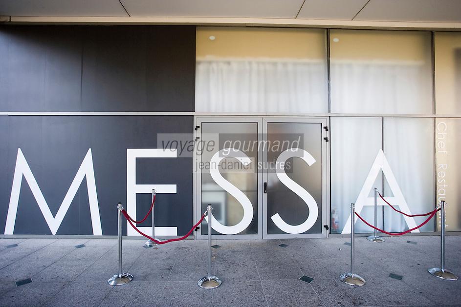 "Asie/Israel/Tel-Aviv-Jaffa: Restaurant ""Messa"" Rehov Ha'arba'a 19 Millénium Towers- design Alex Mitlis"