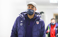 WIENER NEUSTADT, AUSTRIA - NOVEMBER 16: John Brooks #6 of the United States before a game between Panama and USMNT at Stadion Wiener Neustadt on November 16, 2020 in Wiener Neustadt, Austria.