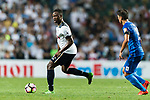 Tottenham Hotspur midfielder Victor Wanyama (L) in action during the Friendly match between Kitchee SC and Tottenham Hotspur FC at Hong Kong Stadium on May 26, 2017 in So Kon Po, Hong Kong. Photo by Man yuen Li  / Power Sport Images