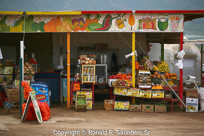 FRUITS FOR SALE AT MEXICAN MARKET