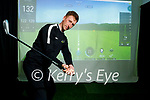 David Fitzgerald of Fitzforefitness, Sports Injury Clinic in Tralee with his new Golf Simulator