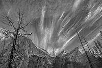 Three Brothers and El Cap Ridgeline, Autumn