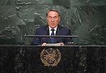 Address by His Excellency Nursultan Nazarbayev, President of the Republic of Kazakhstan