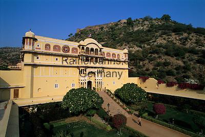 India, Rajasthan, Samode: Samode Palace (Palace Hotel) | Indien, Rajasthan, Samode: Samode Palace Hotel