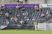 Spectators look on during Gloucestershire vs Essex Eagles, Royal London One-Day Cup Cricket at the Bristol County Ground on 3rd August 2021
