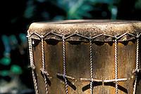 Tradditional Hawaiian pahu drum
