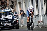 Joscelin Lowden (GBR/Drops LeCol)<br /> <br /> 88th UCI Road World Championships 2021 – ITT (WC)<br /> Women Elite Time trial from Knokke-Heist to Brugge (30.3km)<br /> <br /> ©Kramon
