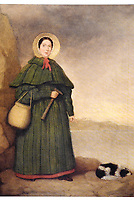 BNPS.co.uk (01202 558833)<br /> Pic: BNPS<br /> <br /> Pictured: Mary Anning<br /> <br /> Campaigners behind a bid to get a statue of palaeontologist Mary Anning built have accused officials of being dinosaurs for jeopardising the project.<br /> <br /> Evie Swire and her mum Anya Pearson set up a charity and fundraised £150,000 for a tribute to the pioneering fossil hunter in her hometown of Lyme Regis, Dorset.<br /> <br /> They had hoped to unveil the statue in May 2022 - the 222nd anniversary of Mary's birth - but they have hit a wall of bureaucracy after Dorset Council said they are too busy to deal with the plans and the statue was 'not a high priority'.