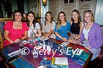 Enjoying the evening in Benners Hotel on Saturday, l to r: Becca Foley, Emma Hokey, Maebh Wickham, Caoimhe Flannagan, Sarah Rohan and Kate Gafney
