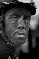 Paris-Roubaix 2012 ..Mathew Hayman post-race