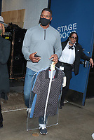 NEW YORK, NY- SEPTEMBER 23: Michael Strahan seen exiting ABC Studios in New York City on September 23, 2021. Credit: RW/MediaPunch
