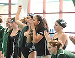 Tulane Swimming and Diving hosts North Texas and honors the senior members of the team