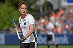 NED - Amsterdam, Netherlands, August 20: During the men Pool B group match between Germany (white) and Ireland (green) at the Rabo EuroHockey Championships 2017 August 20, 2017 at Wagener Stadium in Amsterdam, Netherlands. Final score 1-1. (Photo by Dirk Markgraf / www.265-images.com) *** Local caption *** Marco Miltkau #22 of Germany