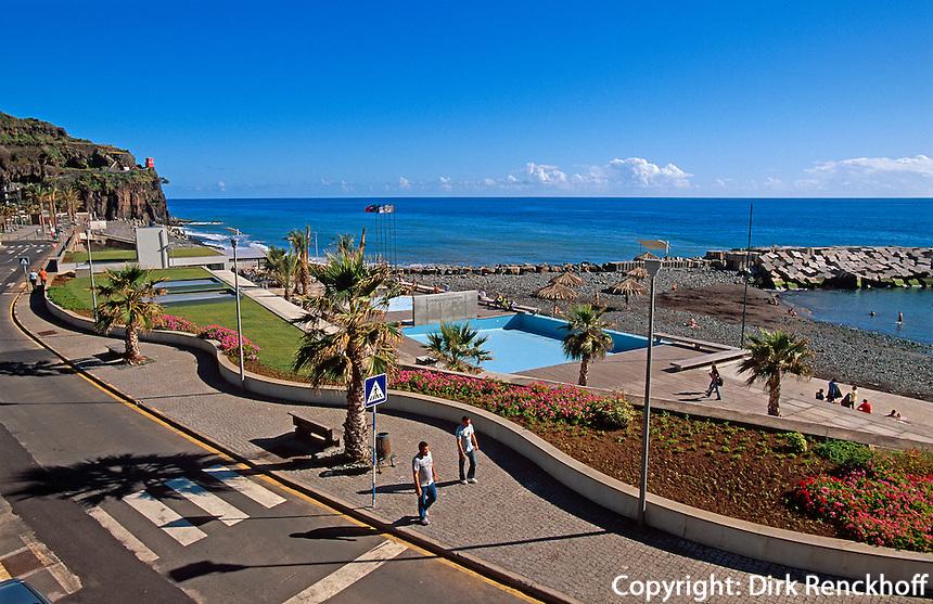 Portugal, Madeira, Strand von Ribeira Brava