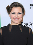 Samantha Barks attends the 16th Annual Hollywood Film Awards Gala held at The Beverly Hilton in Beverly Hills, California on October 22,2012                                                                               © 2012 DVS / Hollywood Press Agency