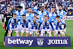 Team photo of CD Leganes during La Liga match between CD Leganes and Deportivo Alaves at Butarque Stadium in Leganes, Spain. February 29, 2020. (ALTERPHOTOS/A. Perez Meca)