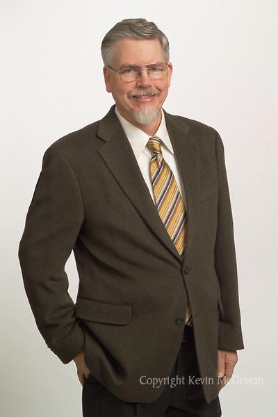 Business portrait, three quarter length