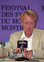 File Photo, Montreal (Quebec) Canada<br /> <br /> Actor Max Von Sydow at the 1989 World Film Festival in Montreal