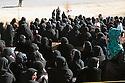 Iraq 2011.Ceremory for the bodies of Barzani killed by PUK brought to Jajok near Barzan: The widows of the Barzani.Irak 2011.Ceremonie a Jajok pres de Barzan pour le rapatriement des corps des Barzani tues par l'UPK: les veuves des Barzani