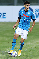 Eljif Elmas of SSC Napoli<br /> during the friendly football match between SSC Napoli and L Aquila 1927 at stadio Patini in Castel di Sangro, Italy, August 28, 2020. <br /> Photo Cesare Purini / Insidefoto