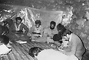 Iraq 1984 .In Ahmed Awa, the office of the Kurdistan Socialist Democratic party.Irak 1984  .A Ahmed Dawa, le bureau du parti socialiste democratique du Kurdistan