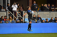 SAN JOSE, CA - MARCH 7: Cade Cowell #44 of the San Jose Earthquakes during a game between Minnesota United FC and San Jose Earthquakes at Earthquakes Stadium on March 7, 2020 in San Jose, California.