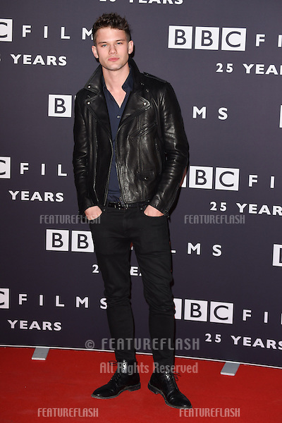 Jeremy Irvine arrives for the BBC Films' 25th Anniversary Reception at Radio Theatre, New Broadcasting House, London. 27/03/2015 Picture by: Steve Vas / Featureflash