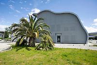 Pisa canale dei Navicelli, Onda 2008, centro ricerche, architetto Roberto Pasqualetti