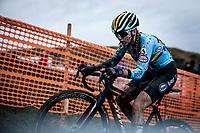 Kiona Crabbe (BEL)<br /> <br /> Women's U23 race<br /> UCI 2020 Cyclocross World Championships<br /> Dübendorf / Switzerland<br /> <br /> ©kramon