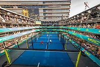 Utrecht, The Netherlands,  September 5, 2021,  Jaarbeurs, Decathlon Copa de Padel,  Alvaro Lopez Luque (ESP) and Alvaro Delgado Sanchez (ESP)<br /> Photo: Tennisimages/Henk Koster