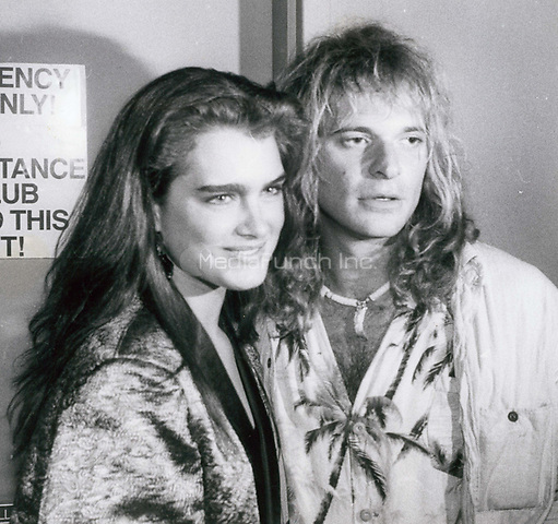 Brook Shields and David Lee Roth 1979<br /> Photo By John Barrett-PHOTOlink.net / MediaPunch