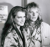 Brook Shields and David Lee Roth 1979<br /> Photo By John Barrett-PHOTOlink.net / MediaPunch