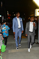 Myles Turner Spotted in Los Angeles