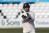 Adam Wheater of Essex during Essex CCC vs Durham CCC, LV Insurance County Championship Group 1 Cricket at The Cloudfm County Ground on 17th April 2021