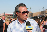 August 4th 2010: Trainer Tim Yakteen after Bench Points and Rafael Bejarano win the 59th running of the Graduation Stakes at Del Mar Race Track in Del Mar CA.