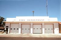Porterville CA: Fire Department,1937. W.D. Coates.